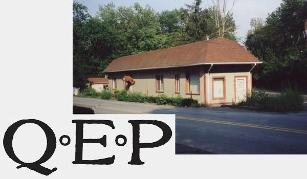 old image of QEP headquarters